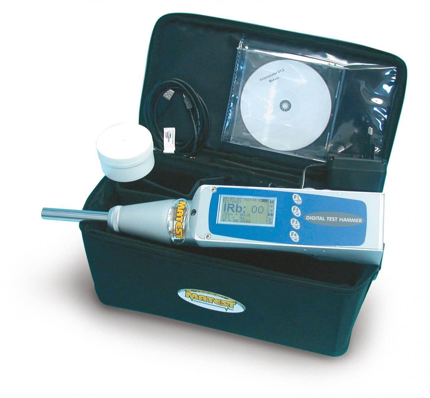 Sclerometru digital cu microprocesor