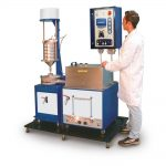 Unitate de extracție automată a bitumului și a lianților bituminoși