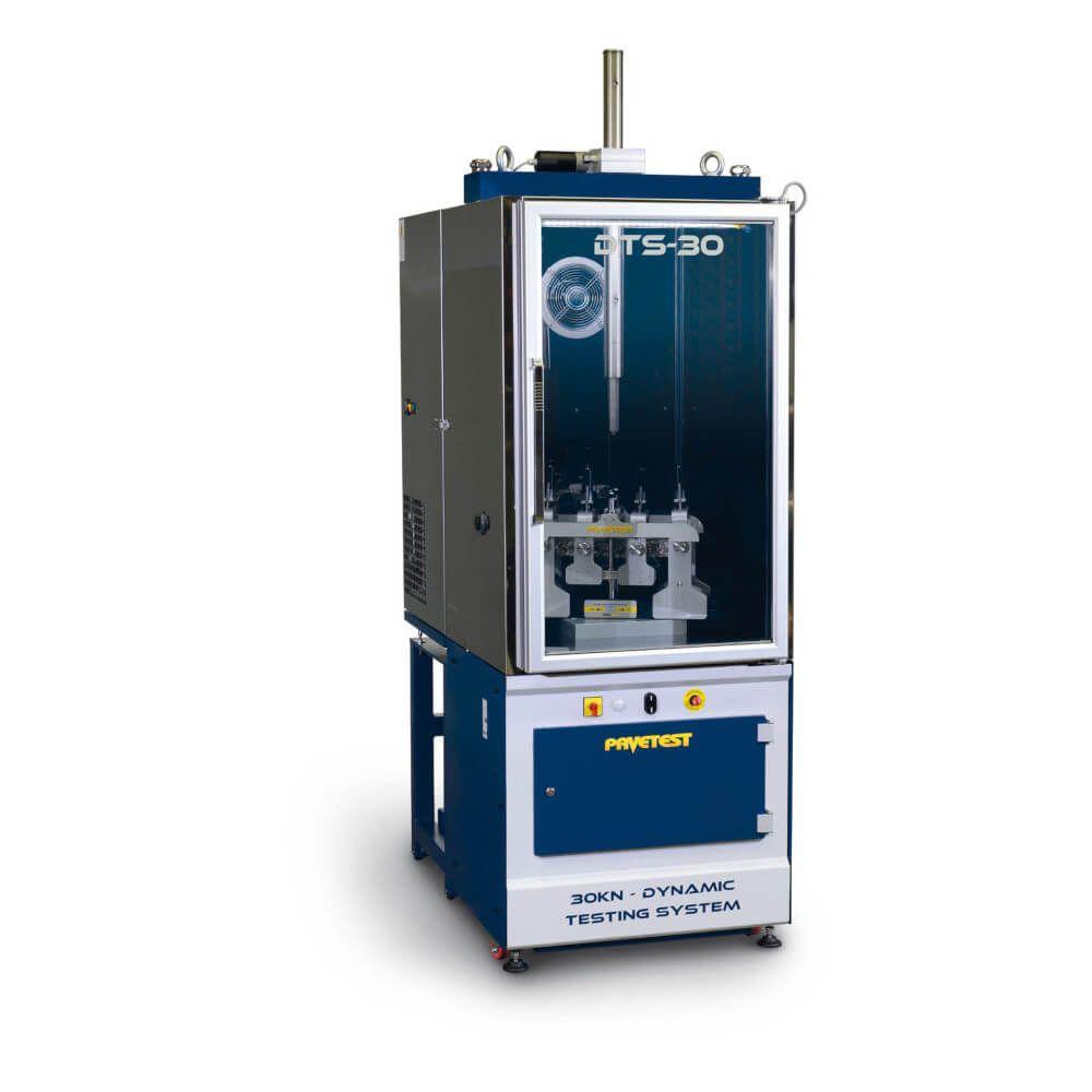 Presă Servo-Hidraulică de testare în regim dinamic a mixturii asfaltice conform EN12697 (DTS-30)