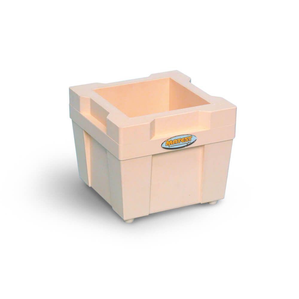 Tipar cubic pentru beton, plastic dur, 150 mm