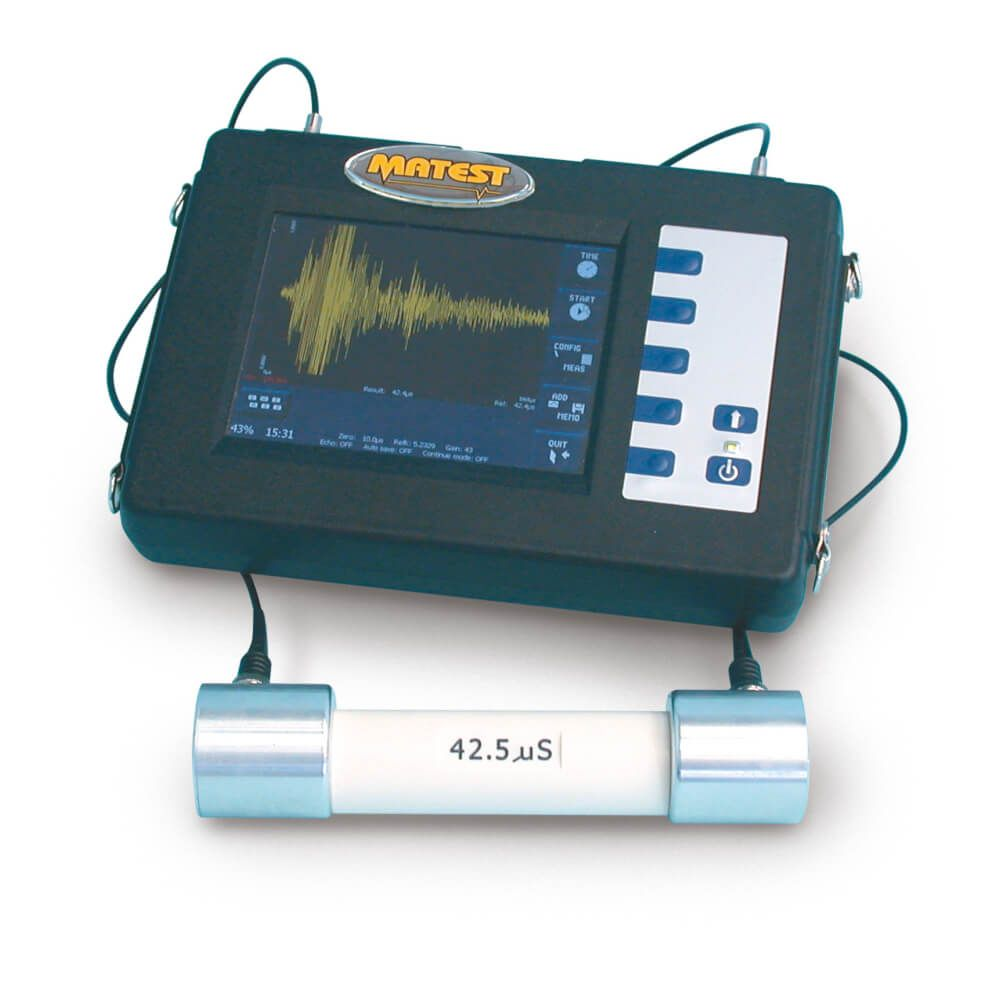 Betonoscop Ultrasonic cu osciloscop incorporat