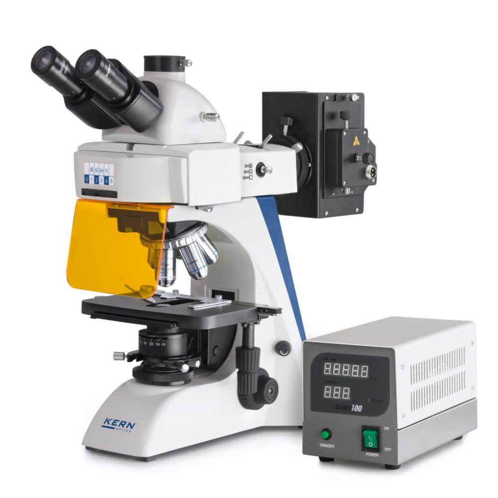 Microscop cu fluorescență seria KERN OBN