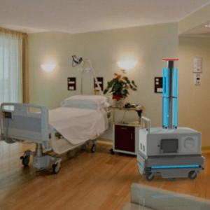robot dezinfectie ultraviolet ozon coronavirus covid 19 coronavirus romania tecnoservice equipment autognity klain robotuics dezinfectie