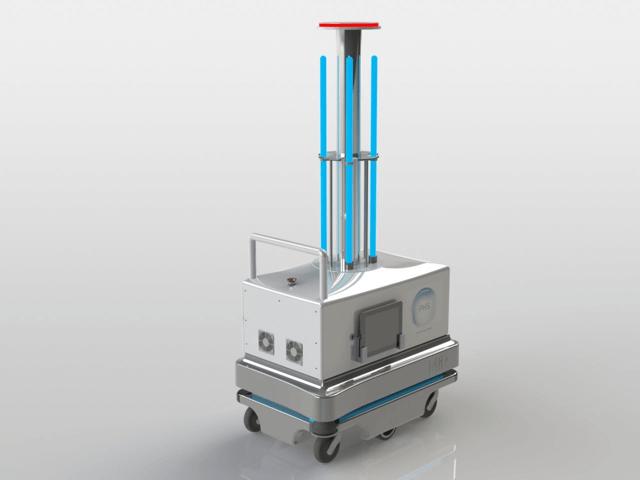Robot dezinfectie cu ultraviolet si Ozon PHS-M