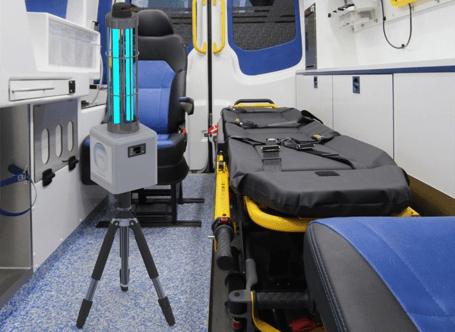 Robot portabil dezinfectie ultraviolete si ozon PHS-P