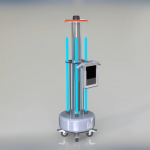 robot dezinfectie ultraviolete ozon PHS-S robot stabil autognity klain robotics coronavirus covid 19