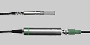 Sonda HMP7 cu indicator luminos verde.