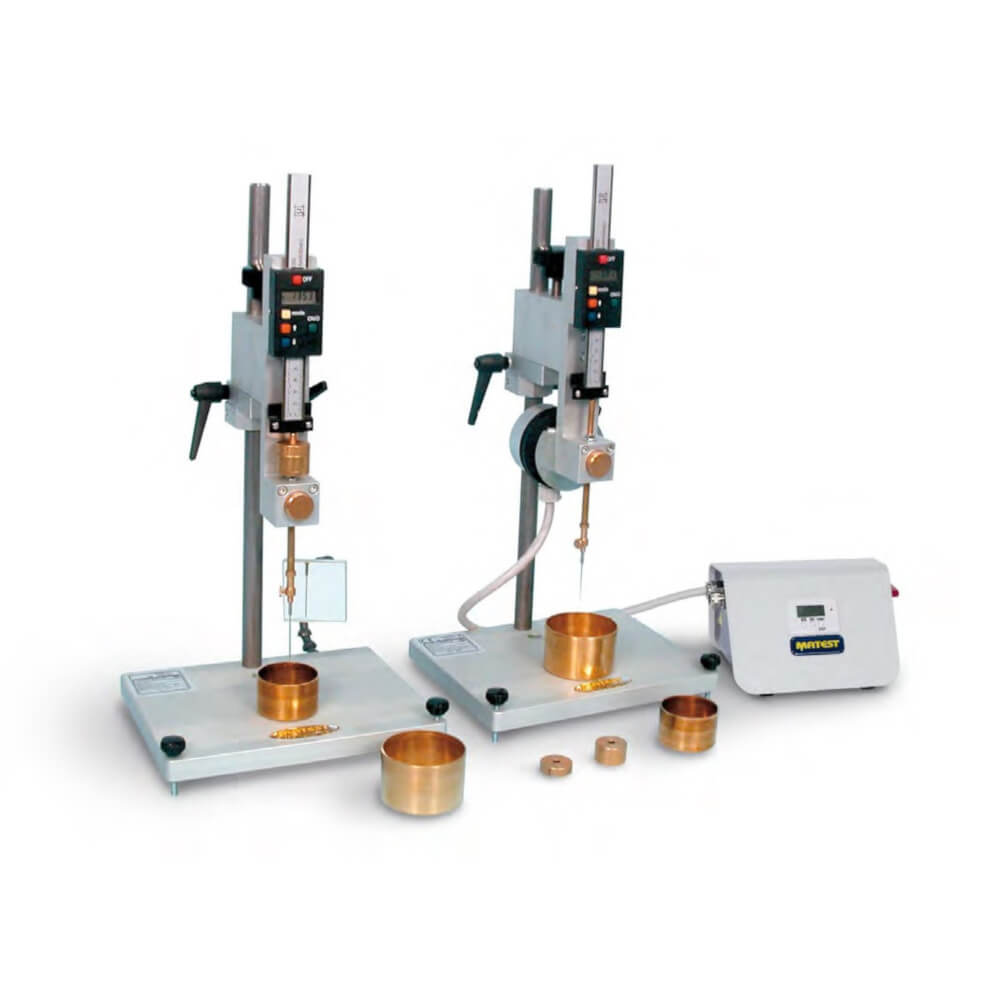 Penetrometru automat digital bitum constructii bitum beton tecnos tecnoservice equipment constructii
